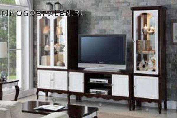 Гостиная GRACEMONT 2 купить в салоне-студии мебели Барселона mnogospalen.ru много спален мебель Италии классические современные