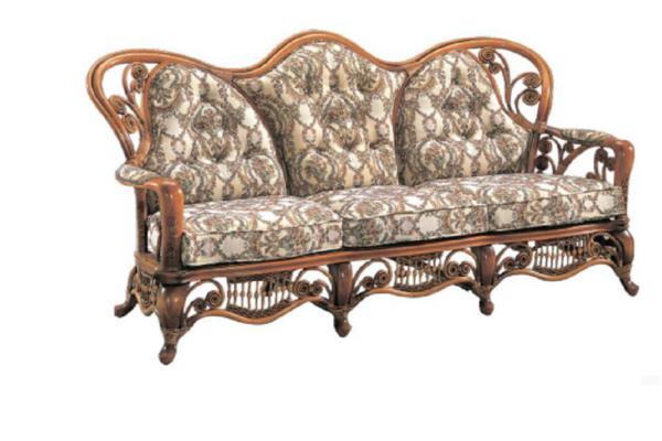 Диван 3-х местный Windsor купить в салоне-студии мебели Барселона mnogospalen.ru много спален мебель Италии классические современные
