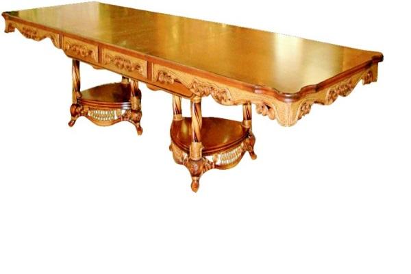 Стол обеденный Alice купить в салоне-студии мебели Барселона mnogospalen.ru много спален мебель Италии классические современные