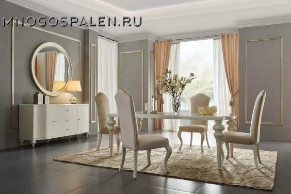 Гостиная RIMINI купить в салоне-студии мебели Барселона mnogospalen.ru много спален мебель Италии классические современные