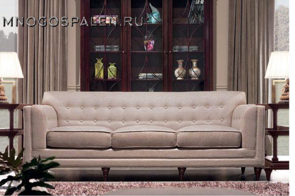 Диван 3 местный купить в салоне-студии мебели Барселона mnogospalen.ru много спален мебель Италии классические современные