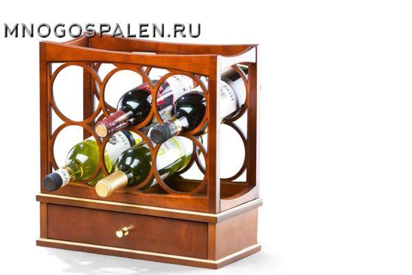 ВИННАЯ ПОДСТАВКА 6 БУТЫЛОК АРТ.160 купить в салоне-студии мебели Барселона mnogospalen.ru много спален мебель Италии классические современные