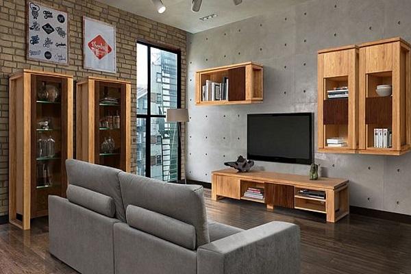 Гостиная Берген купить в салоне-студии мебели Барселона mnogospalen.ru много спален мебель Италии классические современные