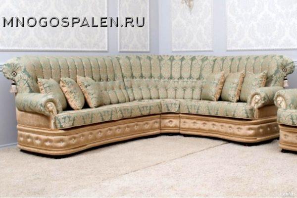 Диван Francesca купить в салоне-студии мебели Барселона mnogospalen.ru много спален мебель Италии классические современные
