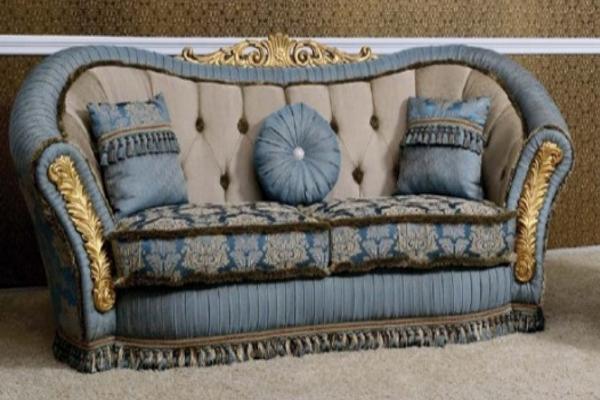 Диван трехместный Grazia купить в салоне-студии мебели Барселона mnogospalen.ru много спален мебель Италии классические современные