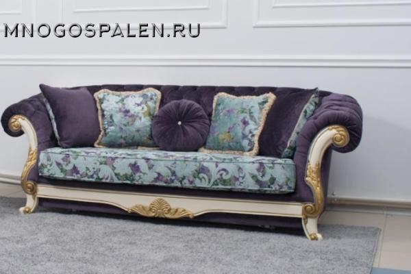Диван трехместный Manchester купить в салоне-студии мебели Барселона mnogospalen.ru много спален мебель Италии классические современные