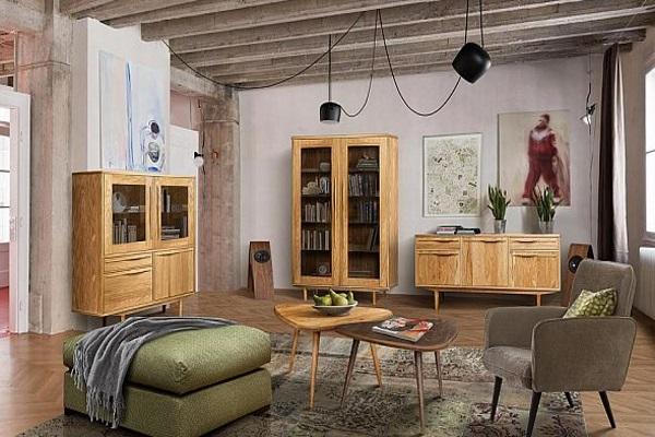 Гостиная «Хайленд» купить в салоне-студии мебели Барселона mnogospalen.ru много спален мебель Италии классические современные