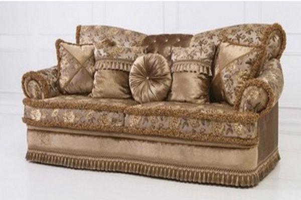 Диван трехместный Versailles купить в салоне-студии мебели Барселона mnogospalen.ru много спален мебель Италии классические современные