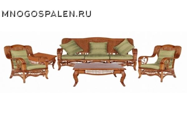 Комплект из ротанга 6011 купить в салоне-студии мебели Барселона mnogospalen.ru много спален мебель Италии классические современные