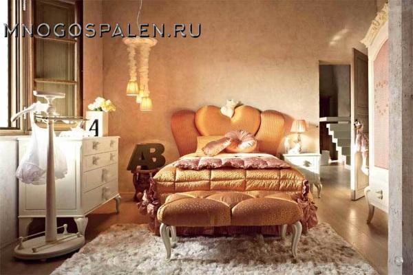 Детская кровать Bambino GM 01 купить в салоне-студии мебели Барселона mnogospalen.ru много спален мебель Италии классические современные