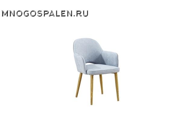 Кресло MC16-2 MK-5612-BL Голубой купить в салоне-студии мебели Барселона mnogospalen.ru много спален мебель Италии классические современные