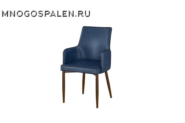 Кресло MC02 MK-5617-DB Синий купить в салоне-студии мебели Барселона mnogospalen.ru много спален мебель Италии классические современные