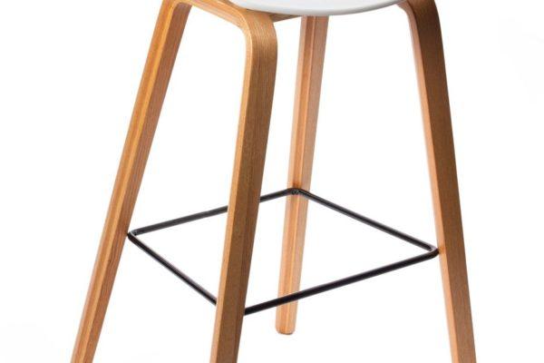 Барный стул Quadro белый купить в салоне-студии мебели Барселона mnogospalen.ru много спален мебель Италии классические современные