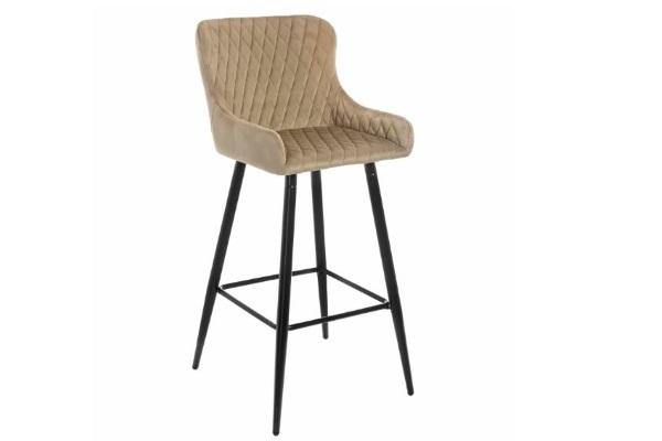 Барный стул Mint темно-бежевый купить в салоне-студии мебели Барселона mnogospalen.ru много спален мебель Италии классические современные
