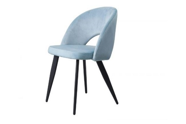 Стул DC-9507 голубой купить в салоне-студии мебели Барселона mnogospalen.ru много спален мебель Италии классические современные
