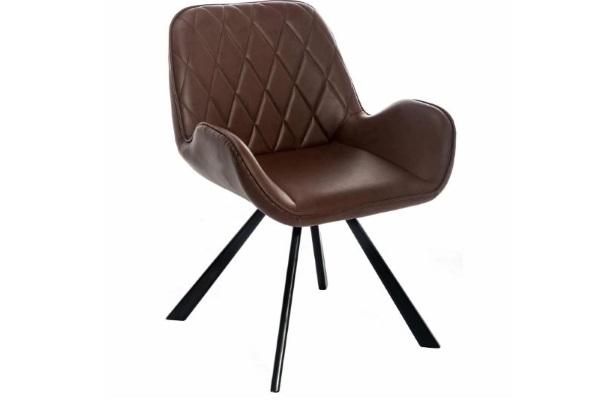 Стул Winston CColl T-860-1 brown leathe купить в салоне-студии мебели Барселона mnogospalen.ru много спален мебель Италии классические современные