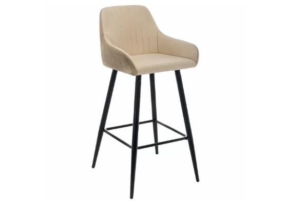 Барный стул Haris бежевый купить в салоне-студии мебели Барселона mnogospalen.ru много спален мебель Италии классические современные
